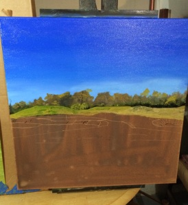 Urbana CC Hole 5 painting