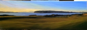 Chamber's Bay Hole 17 (12x36 inches)