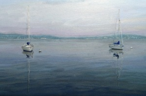 Lake Chautauqua Sailboats (10x12 inches) Not Available