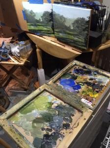 Studio Work Area